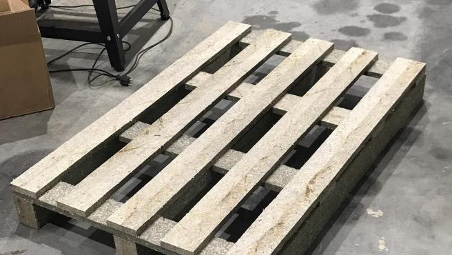 EcoPallets made of 100% recycled material